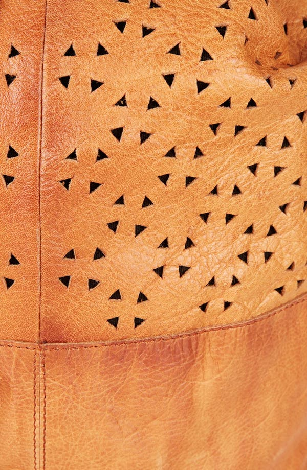 Alternate Image 5  - Topshop Perforated Leather Backpack