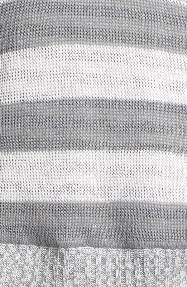 Alternate Image 3  - Eileen Fisher Scoop Neck Stripe Sweater