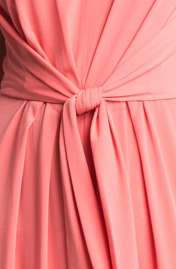 Alternate Image 3  - Suzi Chin for Maggy Boutique Tie Front Maxi Dress