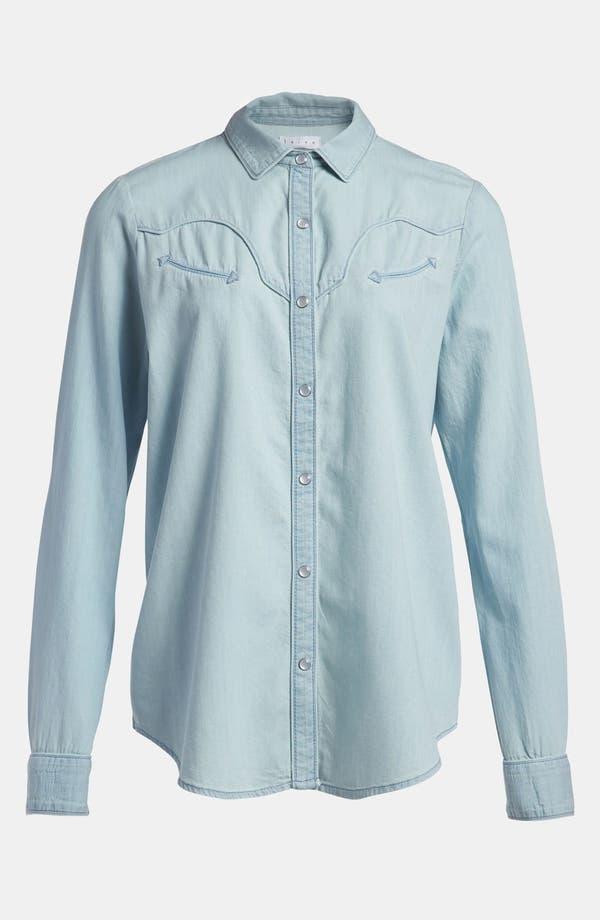 Alternate Image 2  - Leith Chambray Western Shirt