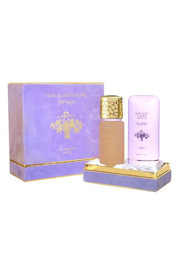 Alternate Image 1 Selected - Houbigant Paris Quelques Fleurs 'Royale' Fragrance Set