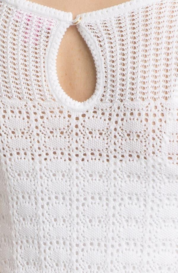 Alternate Image 3  - Lilly Pulitzer® 'Paula' Crochet Sweater Shift Dress