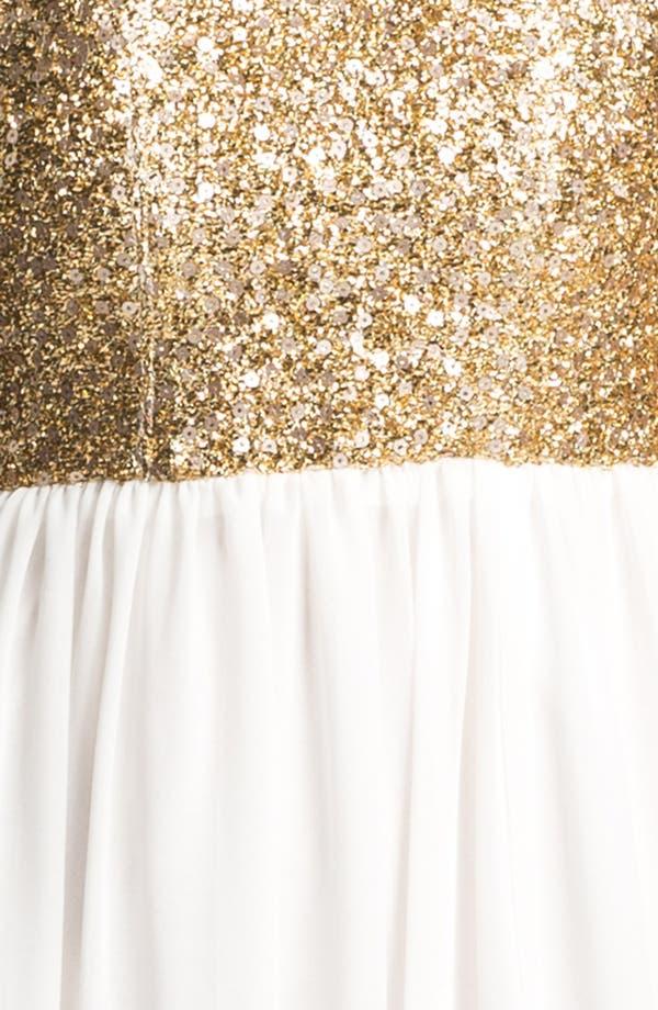 Alternate Image 3  - Keepsake the Label 'Love Run By' Embellished Chiffon Maxi Dress