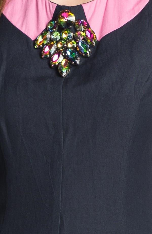 Alternate Image 3  - French Connection 'Glitter Bug' Embellished Sheath Dress
