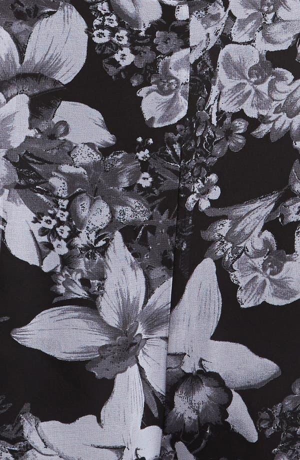 Alternate Image 3  - ASTR Tie Front Floral Romper
