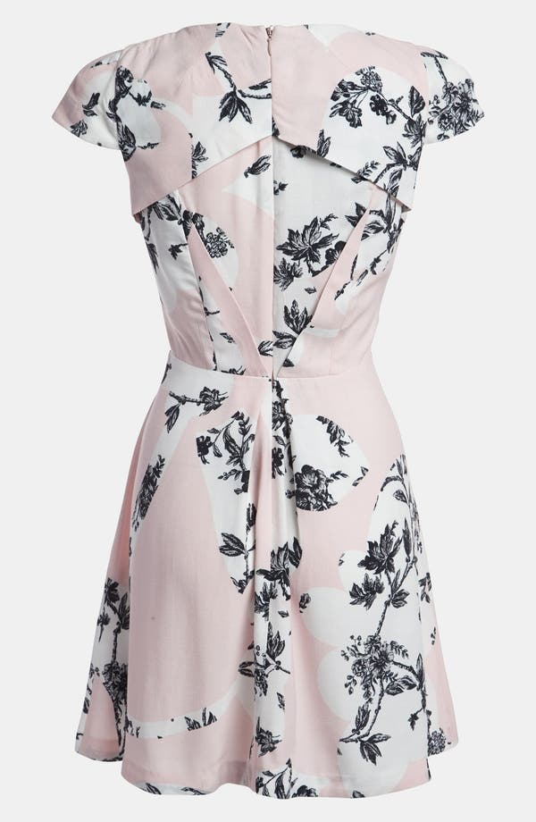 Alternate Image 2  - Topshop Origami Toile Dress
