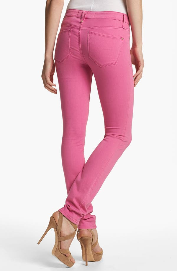 Alternate Image 2  - MARC BY MARC JACOBS 'Gaia' Colored Super Skinny Stretch Jeans (Magenta Petal)