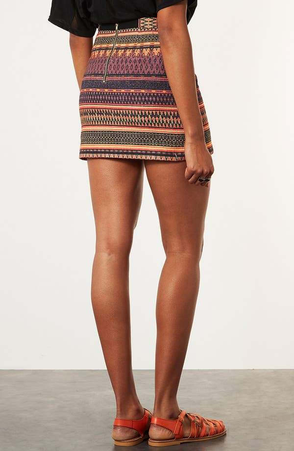 Alternate Image 2  - Topshop 'Safari' Ikat A-Line Skirt