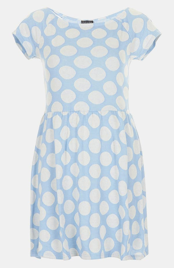 Alternate Image 3  - Topshop Polka Dot Tunic Dress