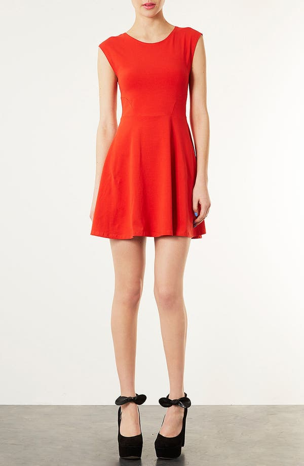 Alternate Image 1 Selected - Topshop Skater Dress