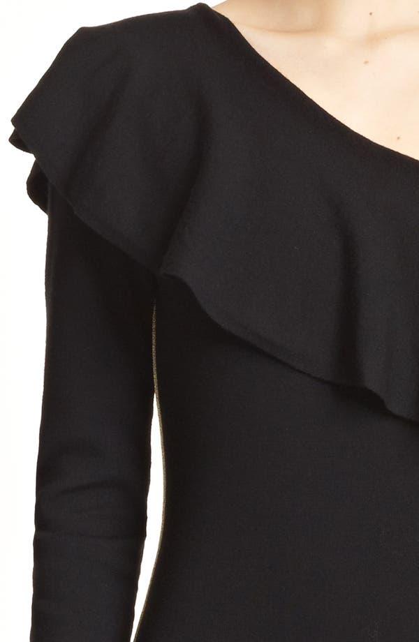 Alternate Image 3  - Emilio Pucci Ruffle One-Shoulder Sheath Dress