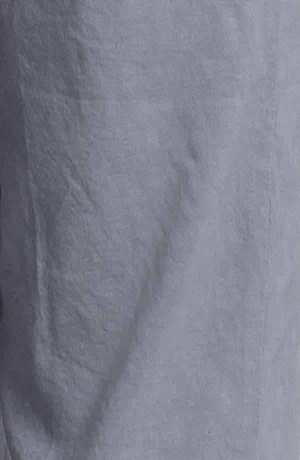 Alternate Image 3  - Eileen Fisher Linen Blend Trousers (Regular & Petite)