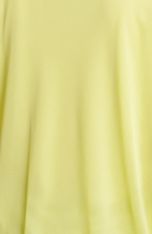 Alternate Image 3  - Evans Mesh Bubble Top (Plus Size)