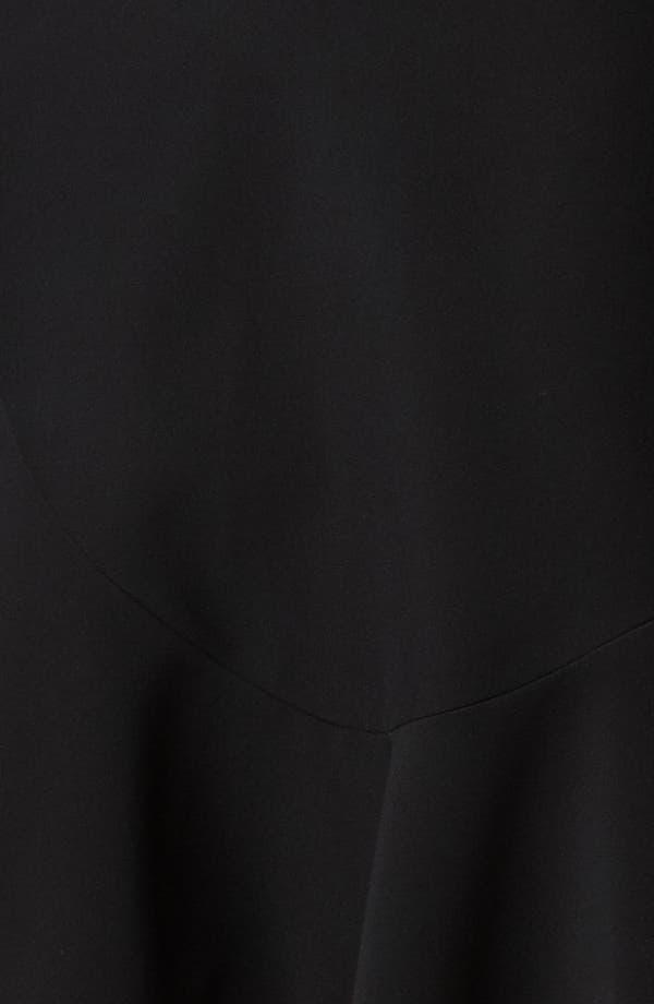 Alternate Image 3  - Alexander McQueen Flounce Leaf Crepe Dress