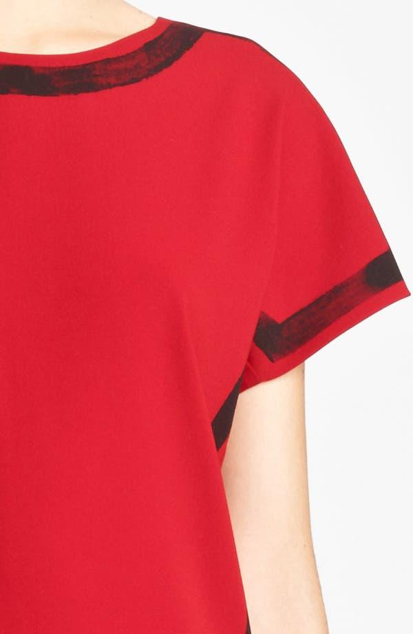 Alternate Image 3  - Moschino Cheap & Chic Brushstroke Print Crepe Dress