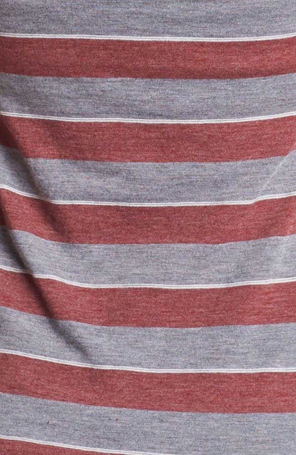 Alternate Image 3  - Retro Brand 'Stash' Stripe Racerback Tank (Juniors) (Online Only)