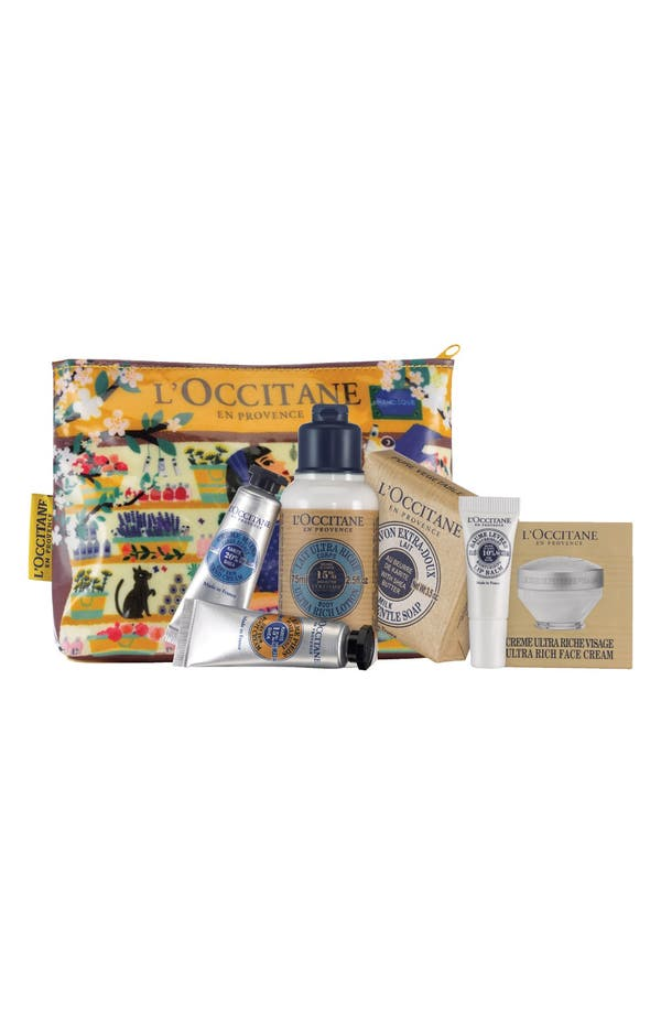 Alternate Image 1 Selected - L'Occitane Shea Butter Head-to-Toe 6-Piece Set ($34 Value)