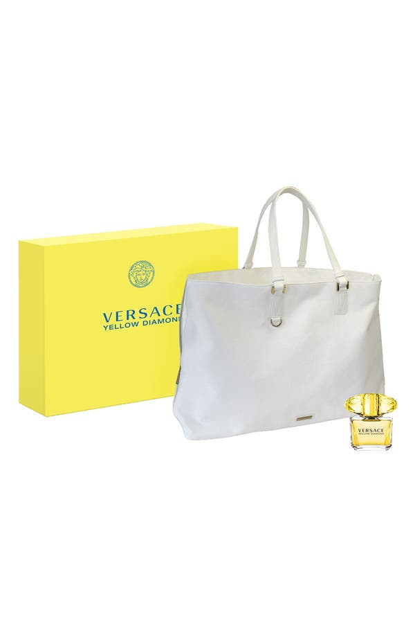 Alternate Image 1 Selected - Versace 'Yellow Diamond' Eau de Toilette Intensification Set