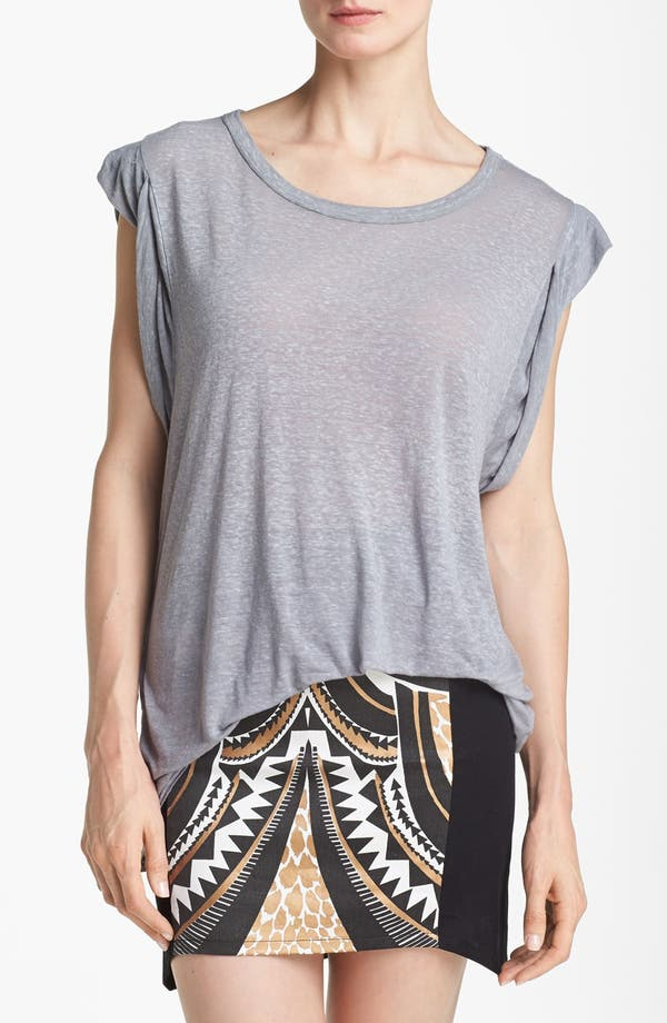 Alternate Image 1 Selected - Leith Roll Sleeve Off Shoulder Tee