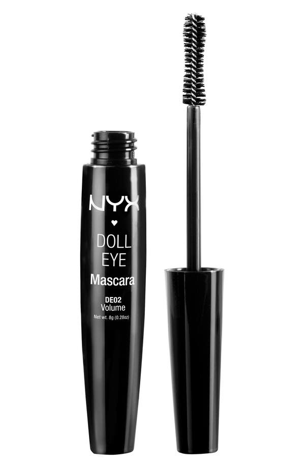 Alternate Image 1 Selected - NYX 'Doll Eye' Mascara