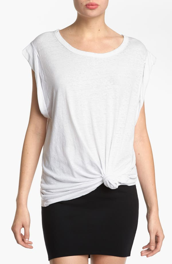Main Image - Leith Roll Sleeve Off Shoulder Tee
