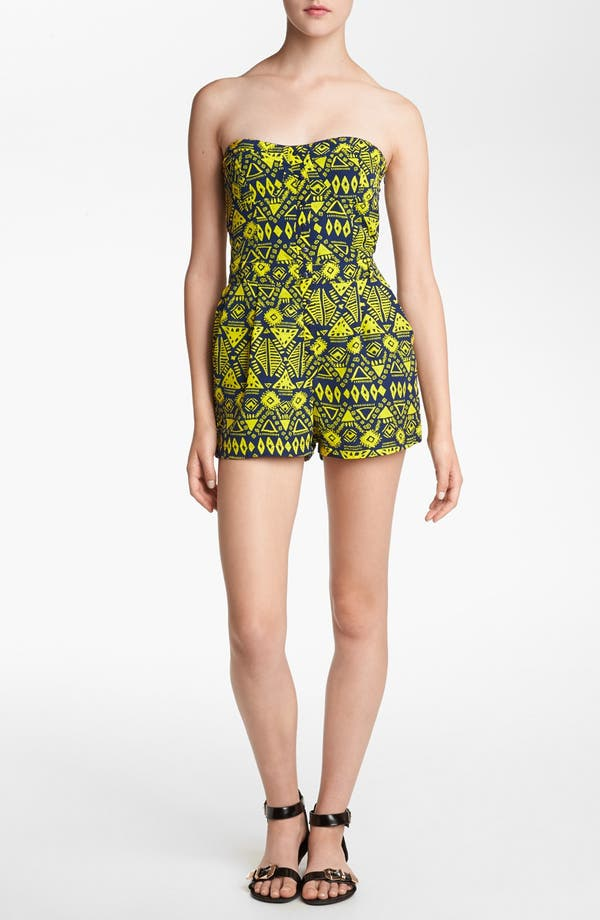 Alternate Image 1 Selected - Lucca Couture Print Romper