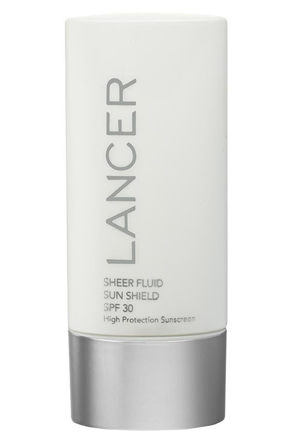 Alternate Image 1 Selected - LANCER Skincare Sheer Fluid Sun Shield SPF 30