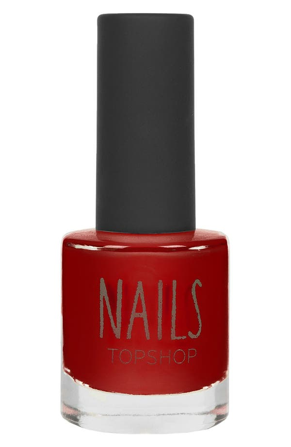 Alternate Image 1 Selected - Topshop 'Bittersweet' Nail Polish (Limited Edition) (2 for $14)