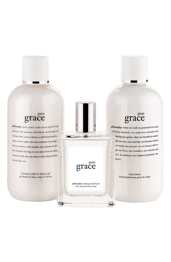 Alternate Image 2  - philosophy 'pure grace' gift set ($81 Value)