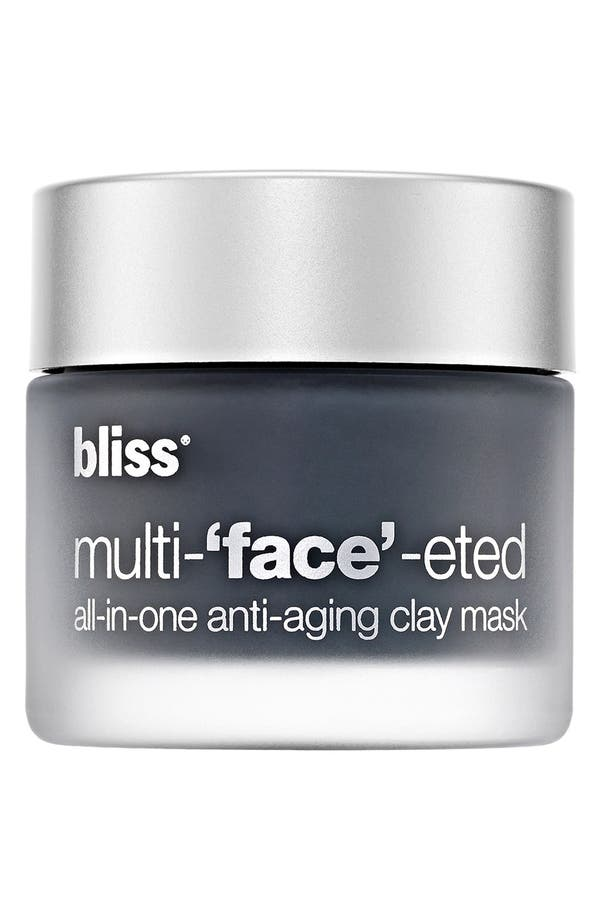 Alternate Image 1 Selected - bliss® 'Multi-face-eted' All-in-One Anti-Aging Clay Mask