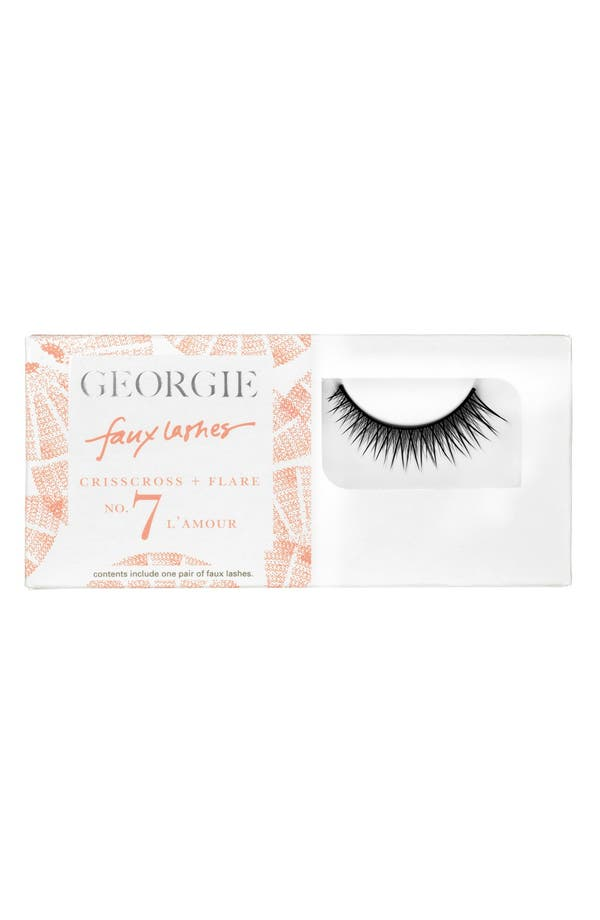 Alternate Image 1 Selected - Georgie Beauty™ 'L'Amour' Faux Lashes
