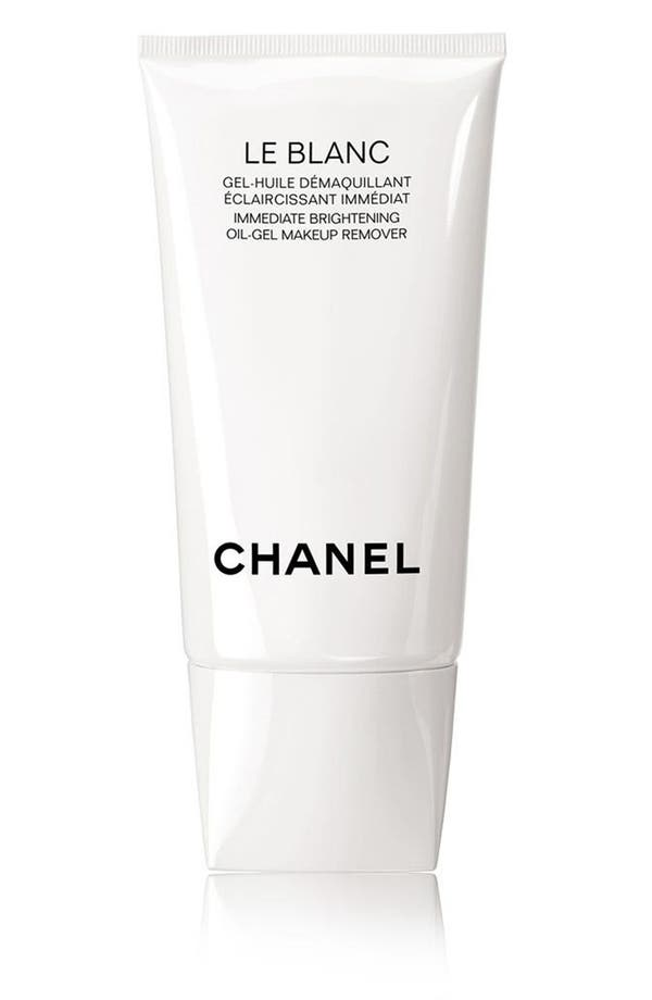 Alternate Image 1 Selected - CHANEL LE BLANC Immediate Brightening Oil-Gel Makeup Remover
