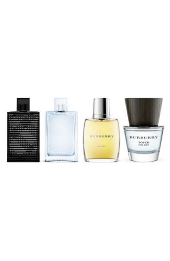 Alternate Image 2  - Burberry Men's Miniature Fragrance Coffret