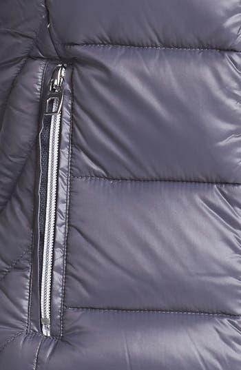 Alternate Image 3  - London Fog Hooded Packable Down Vest (Online Only)