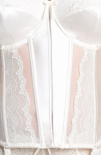 Alternate Image 4  - Elomi 'Maria' Basque Corset (Plus Size)