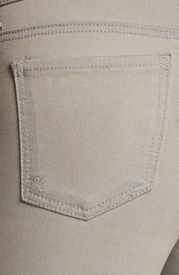 Alternate Image 4  - KUT from the Kloth 'Jennifer' Skinny Jeans (Taupe Grey)