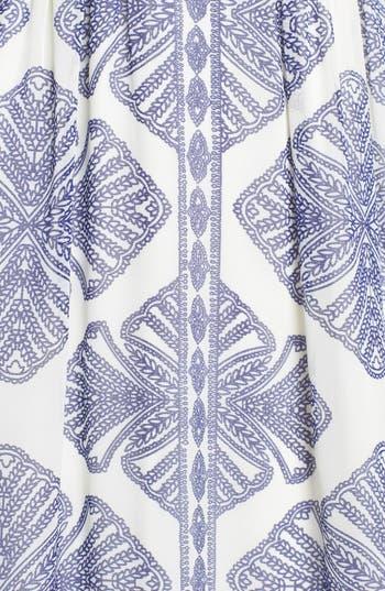 Alternate Image 3  - Vince Camuto Print Cutaway Maxi Dress