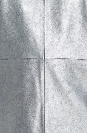 Alternate Image 3  - Trouvé Leather Panel Tee