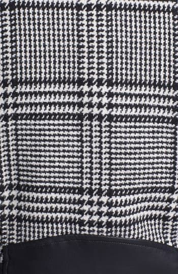 Alternate Image 3  - GUESS Houndstooth Plaid Coat