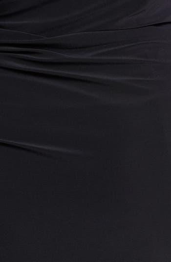 Alternate Image 3  - Betsy & Adam Embellished Cutout Long Jersey Dress (Plus Size)