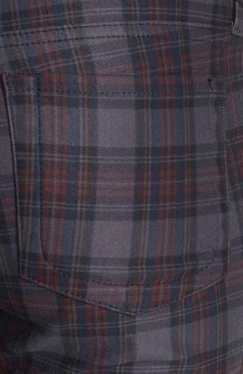 Alternate Image 3  - KUT from the Kloth 'Mia' Plaid Toothpick Skinny Jeans (Grey)