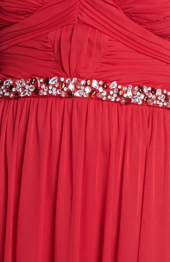 Alternate Image 3  - Way-In Embellished Strapless Gown (Juniors) (Online Only)
