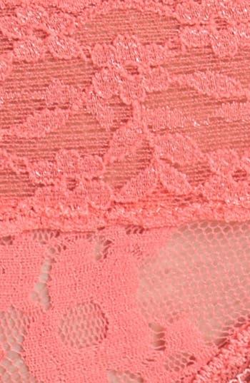 Alternate Image 2  - BP. Undercover Lace Waist Thong (Juniors)