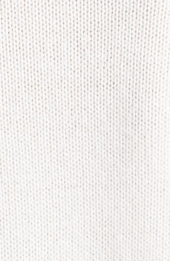 Alternate Image 3  - Alexander McQueen Sleeveless Ribbed Cashmere Turtleneck