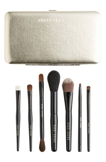 Alternate Image 1 Selected - Bobbi Brown Limited Edition 'Old Hollywood' Luxe Travel Brush Set ($240 Value)