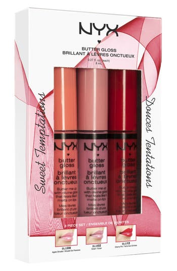 Alternate Image 2  - NYX 'Sweet Temptations' Butter Gloss Set