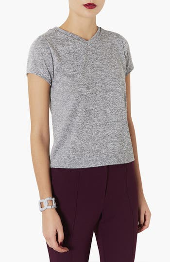 Main Image - Topshop 'The Collection Starring Kate Bosworth' V-Neck Tee