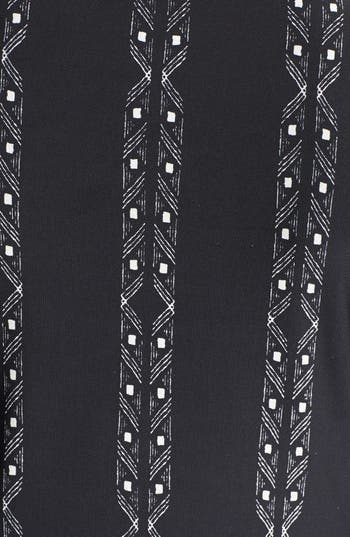 Alternate Image 3  - Minty Print Midi Dress (Juniors)