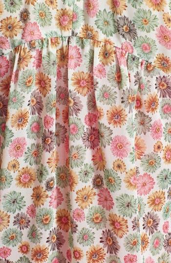 Alternate Image 3  - Elodie Floral Print Gathered Yoke Blouse (Juniors)