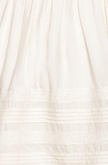 Alternate Image 3  - Rubbish® Pleat Lace Trim Full Skirt (Juniors)